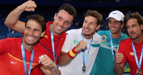 Rafael Nadal Team Spain ATP Cup H